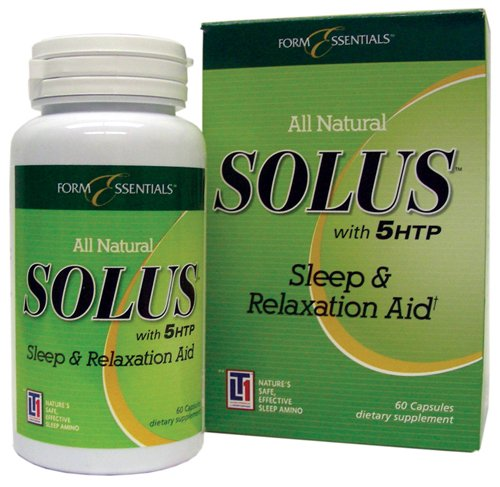 Solus Sleep and Relaxation Aid - 180 Capsules (3 x 60 Capsules)