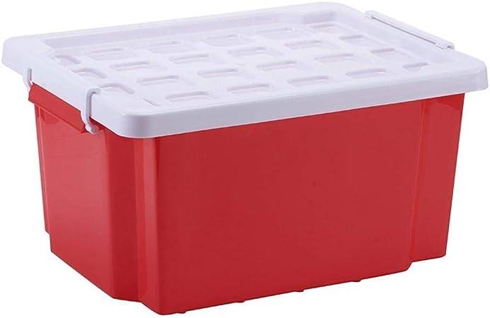 Axiba Cajas de almacenaje Dormitorio Ropa Caja Acabado pequeño plástico Caja de Almacenamiento de Cocina Almacenamiento Caja 45 * 34.5 * 23. 5 cm: Amazon.es: Hogar
