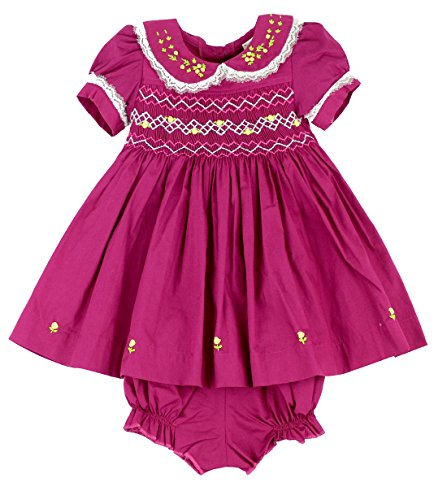 fall smocked dresses for baby - 5