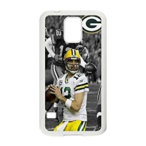 Custom Aaron Rodgers Protective Phone Case For Samsung Galaxy S5 High Quality PC Cover CASE-17