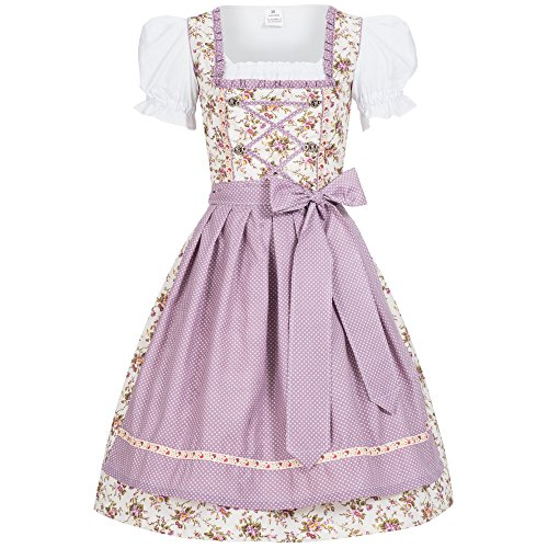 Women's German Dirndl Dress Costumes For Bavarian Oktoberfest Carnival Halloween JoJo 34 ()