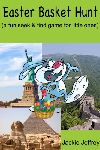 Easter Basket Hunt (a fun seek and find for young children aged baby-5 years)