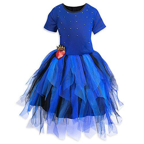 Disney Evie Woven Dress Girls - Descendants Size 7/8 Blue