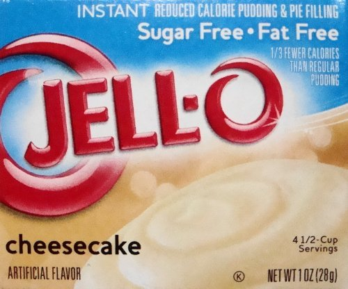 Jell-O Cheesecake Sugar Free Instant Pudding & Pie Filling (4-Pack) Home Grocery Product ()