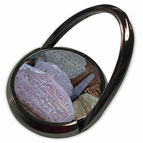 3dRose Danita Delimont - Ellen Clark - Religion - Jammu and Kashmir, Ladakh, road prayer stones. - Phone Ring (phr_188086_1) (Kashmir Stone)