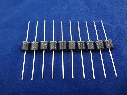 MISOL 10PCS-10A 50V Schottky Diode,SCHOTTKY BARRIER RECTIFIER,for solar panel DIY