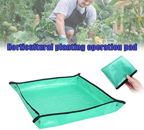 Garden Kneelers Arbeitstuch, Home Gardening Planting Operation Pad Wasserdichtes Umpflanztopf-Pad, Lock Anti Dirty Thicken Basin Kissen für die Pflege von Gartenpflanzen in Innenräumen 68x68cm