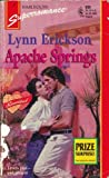 Front cover for the book Apache Springs by Lynn Erickson