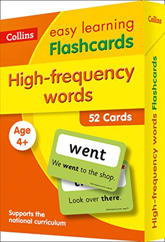 Collins Easy Learning KS1 – High Frequency Words Flashcards