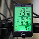 Baynne Digital Wired Touch Screen Bike Bicycle Computer Odometer Speedometer