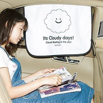 Pare-soleil magn/étique pour vitres de voiture Hoohii protection pour b/éb/é 2/pi/èces adsorption et protection FPU 50 et plus bloque les rayons UV enfants et animaux de compagnie