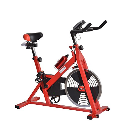 Stationary Bike (Black/Red) - 9