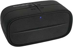 SoundBot SB572 Bluetooth 4.1 Wireless Speaker for 8hrs Music Streaming and Hands-Free Calling, Premium Driver Passive Radiator Bass, Built-in Mic and Battery, 3.5mm Audio Port for Indoor Outdoor