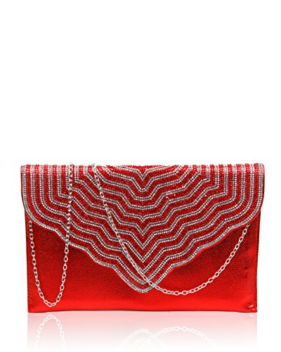 pour FoxLady pour FoxLady red Pochette red femme femme Pochette FoxLady Pochette YFqxgnwpP