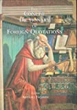 Concise Dictionary of Foreign Quotations, , 1579583415