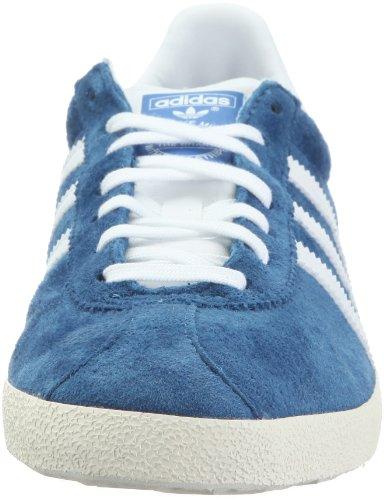 adidas Originals Gazelle OG, Sneaker Unisex-Adulto Blu (Bleu Royal, Blanc, Ivoire Et Or)