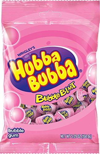 Hubba Bubba Bubble Gum, Bubba Blast Bag, 30 Count (Pack of 12)