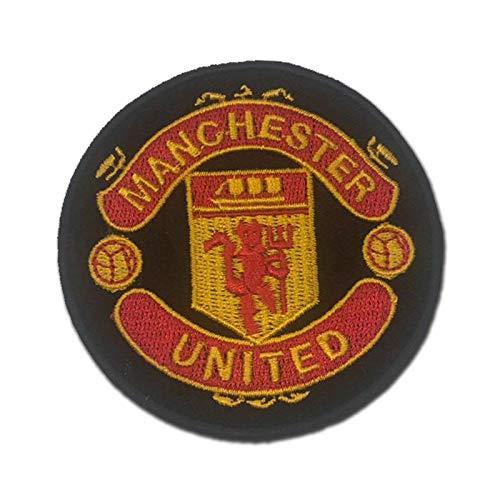 Manchester United MUFC Man U Round Black 3