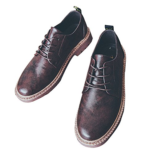 Lace marrone Scarpe up Casual Zanpa Uomo qOYxXWt