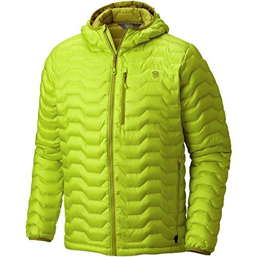 Ripstop Hooded Down Jacket (Mountain Hardwear Men's Nitrous Hooded Down Jacket)
