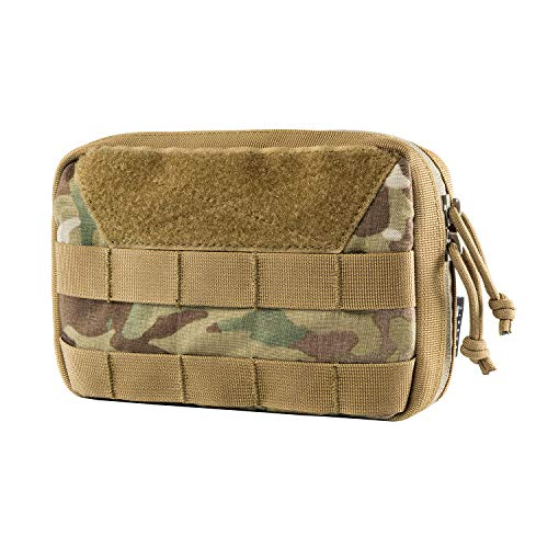 OneTigris MOLLE Admin Pouch (Multicam Basic Version - 7.5