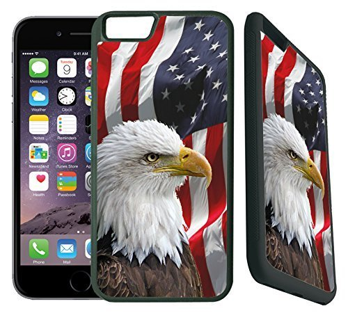 [TeleSkins] - Bald Eagle American Flag - iPhone 6 Plus / 6S...