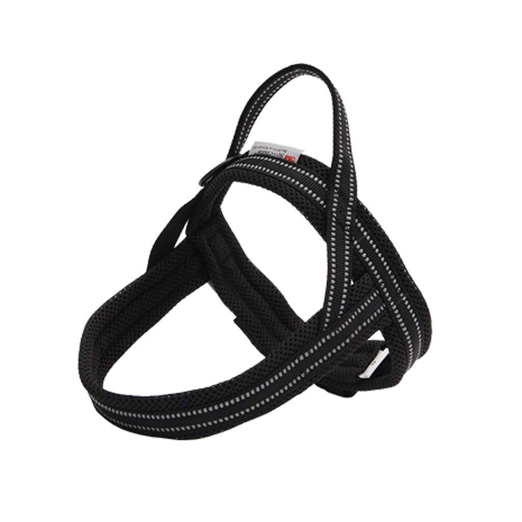BLACK L BLACK L Dog Harness No-Pull Pet Harness Adjustable Outdoor Pet Vest Oxford Material Vest for Dogs Easy Control for Small Medium Large Dogs (color   Black, Size   L)