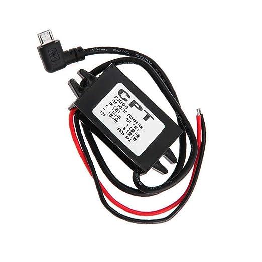 Amazon Com Yanbirdfx Dcdc Converter Regulator 12v To 5v 3a 15w Car