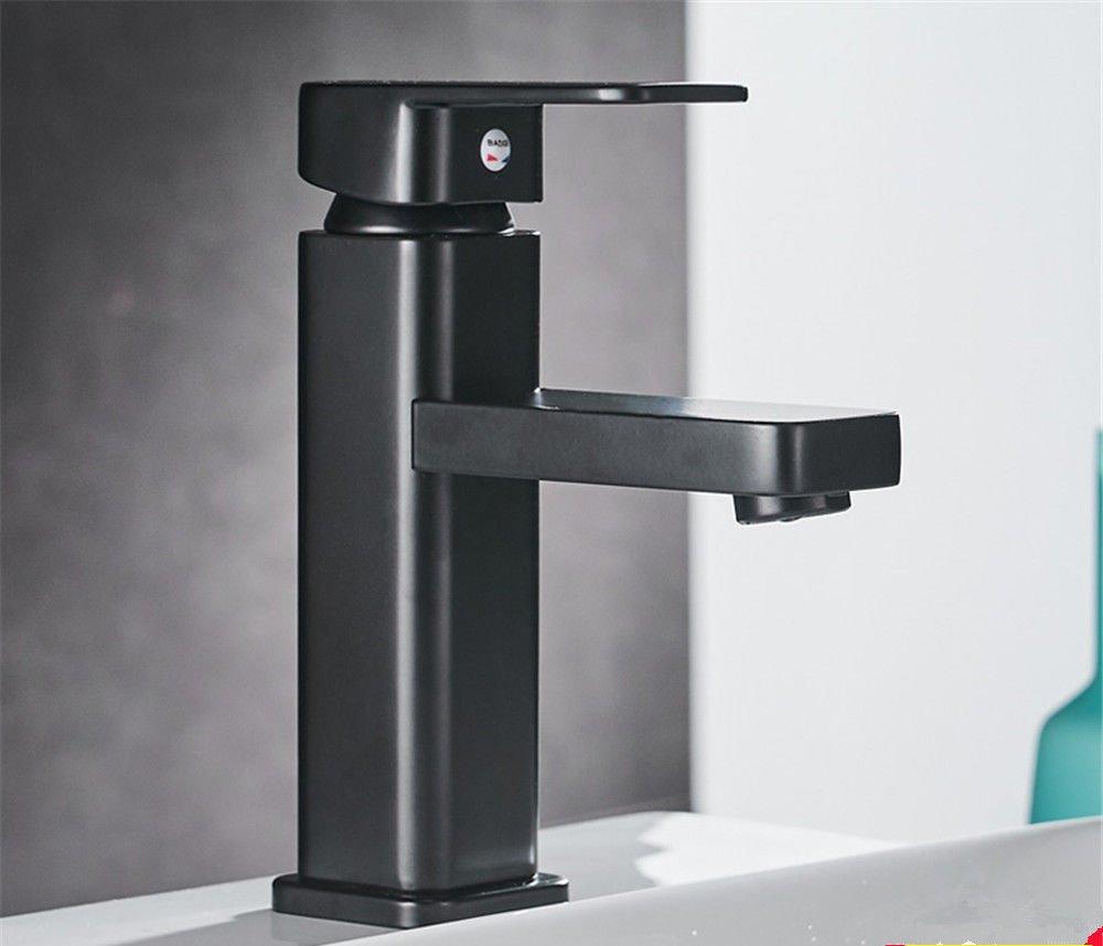 Standard Pengei Tap Basin Mixer Kitchen Sink Mixer Faucet Copper Matte Matte Paint, Standard