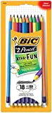 BIC Xtra-Fun Graphite Pencils No 2 HB 18-Count Deal (Small Image)