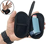 AGOZ Asthma Inhaler Case Zippered Protective