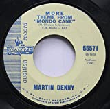 Martin Denny 45 RPM More Theme From