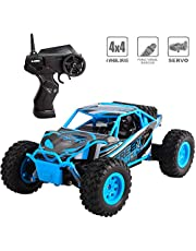 deAO Fast Off-Road RC Racing Car 2.4GHz Remote Control High Speed Race Vehicle Toy Car 4x4 Buggie Jeeps
