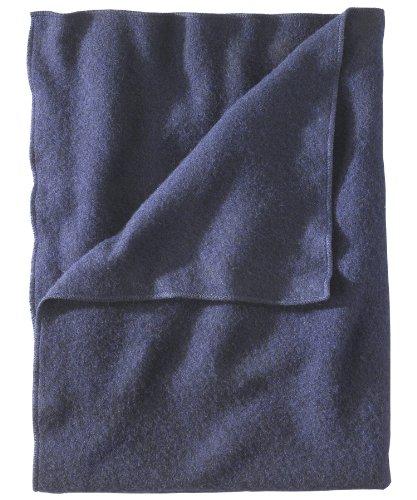 Woolrich 991060 NVY R 60 by 80-Inch Atlas Twin Blanket