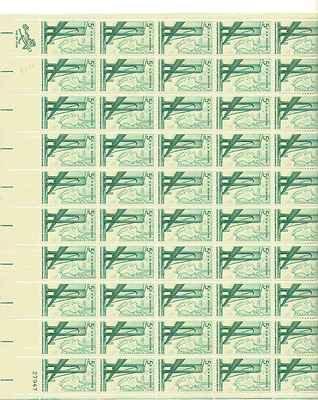 Verrazano Narrows Bridge Sheet of 50 x 5 Cent US Postage Stamps Scott 1258