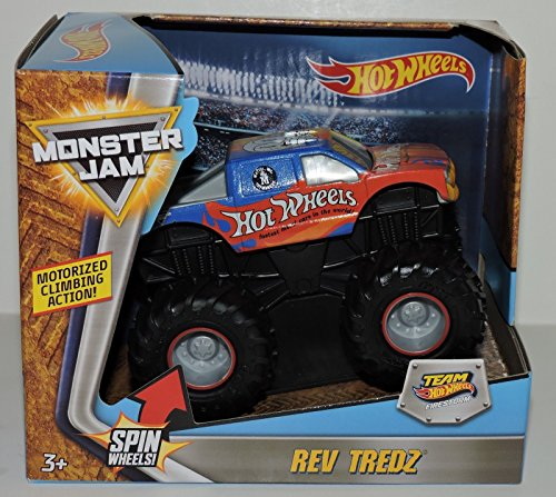 HOT WHEELS MONSTER JAM SERIES MONSTER TRUCK TEAM HOT WHEELS