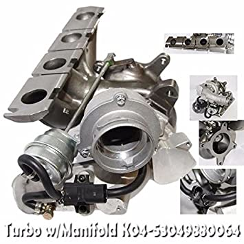 K04 - 064 Turbo para Audi 06 - 13 A3 BZC CDLC 08 - 15 S3 BHZ BZC CDLC 07 - 14 TT BZC 2.0T: Amazon.es: Coche y moto