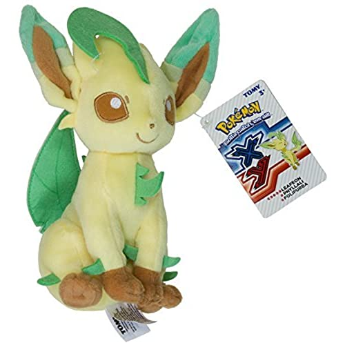 Leafeon ~9 Mini Plush: Pokemon Evolution Of Eevee Series