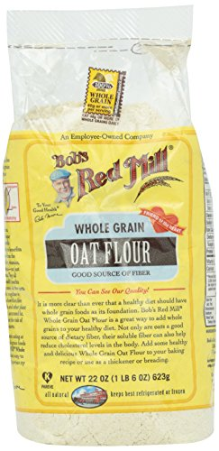 Bob's Red Mill Whole Grain Oat Flour, 22 (Organic Oat Flour)