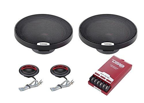 DS18 GEN-X6.5C 6.5 Inch 2-Way Component Speaker System wi...
