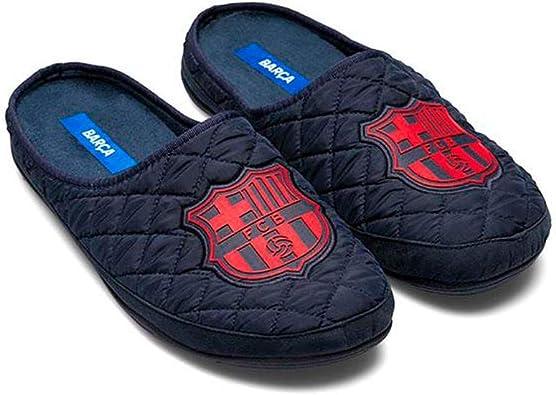Zapatillas Oficiales FC Barcelona Amatista Azul: Amazon.es: Zapatos y complementos