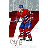 Torrey Mitchell Hockey Card 2016-17 Montreal Canadiens Postcards #12 Torrey Mitchell