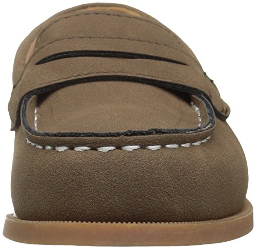 Pictures of Carter's Boys' Simon4 Slip-On Boat Brown 7 M US Toddler 6