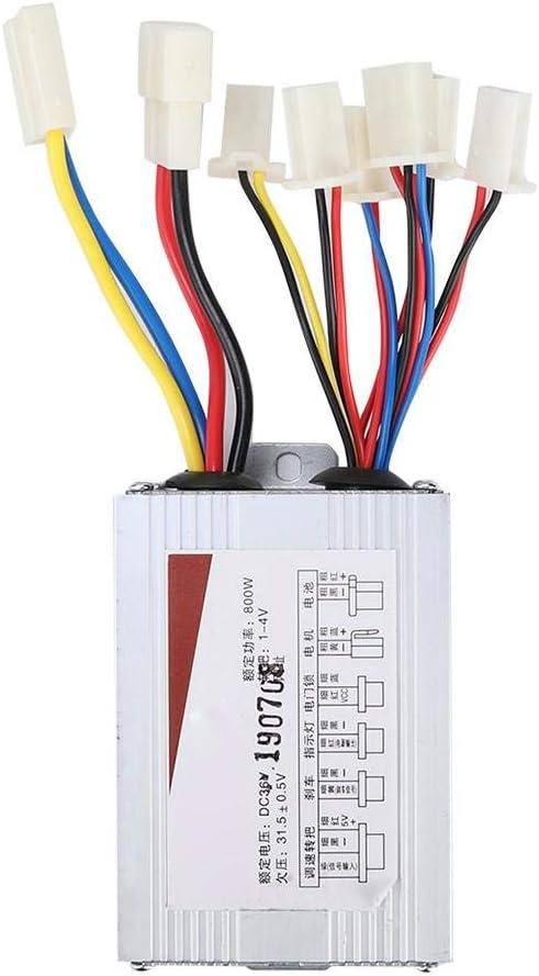 bo/îte de contr/ôleur balay/ée par v/élo /électrique de scooter de v/élo /électrique avec la poign/ée dacc/él/érateur Contr/ôleur de vitesse de moteur de 36V 800W