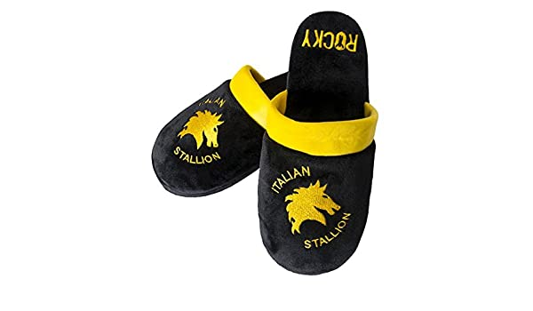 Oficial Rocky Italian Stallion mula Adult Slip On Zapatillas - 2 Tamaños (EU 38-41)