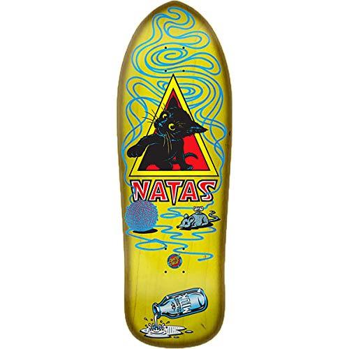 Santa Cruz SMA Natas Kitten Reissue Skateboard Deck,Assorted,9.89