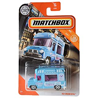 Matchbox Ice Cream King [Blue] 43/100, MBX City Series