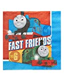 American Greetings, Thomas the Tank, Party Supplies, Paper Lunch Napkins, 16-Count