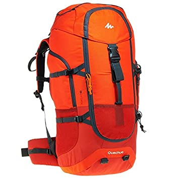 fd0713e10 Quechua Forclaz 60 Backpack (Red)  Amazon.in  Sports