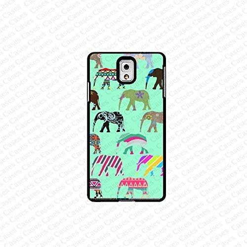krezy case Galaxy Note 4 case- colorful elephant samsung Galaxy Note 4 case- Cute Note Case, Galaxy Note 4 Case